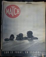 Match N° 69 26 Octobre 1939. Sur Le Front - Journaux - Quotidiens