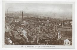 LE CREUSOT - N° 120 - VUE GENERALE DES USINES - CPA NON VOYAGEE - Le Creusot