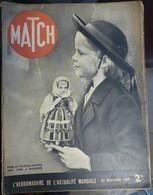 Match N° 73 23 Novembre 1939. Pologne Martyre - Journaux - Quotidiens