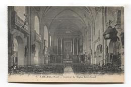 Bailleul (59) - Intérieur De L'Église Saint-Amand - Otros Municipios