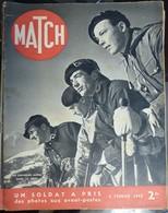 Match N° 84 8 Février 1940. Chasseurs Alpins - Journaux - Quotidiens