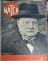 Match N° 87 29 Février 1940. Churchill - Journaux - Quotidiens