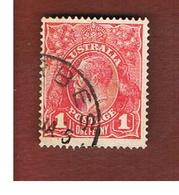 AUSTRALIA  - SG 53a -  1920  KING GEORGE V 1 D         -   USED - Used Stamps