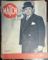 Match N° 91 28 Mars 1940. Paul Reynaud - Journaux - Quotidiens