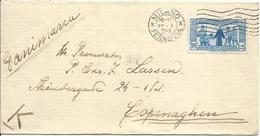 R091-Lettera Per La Danimarca Con 1,25 Lire Sant'Antonio 22.1.1932 - Bella - 1900-44 Victor Emmanuel III