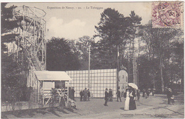 54 - Exposition De Nancy - Le Toboggan - 1909 - Nancy