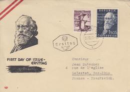 Enveloppe  FDC   1er  Jour    AUTRICHE    Wilhelm   KIENZL   1951 - FDC