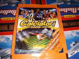 Calciatori 2009.10 Lo Sprint Scudetto Bustina Con Figurine Panini - Edizione Italiana