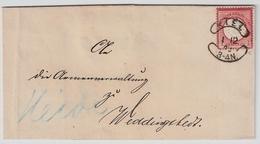 1873, Sehr Klarer Würstchen-Stp.  , #a827 - Deutschland