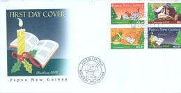 PAPUA NEW GUINEA - FDC  - 3.12.2008 - CHRISTMAS - Yv 1251-1254 -  Lot 17676 - Papouasie-Nouvelle-Guinée