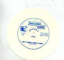 Vinyl Publicitaire Vache Grosjean C'est à L'amour  Hardy - Special Formats