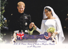 Prince Harry Meghan  Great Brittain ( G11 - Familles Royales