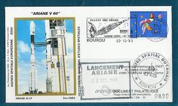 ESPACE - ARIANE Vol Du 1993/10 V60 - CNES - 3 Documents - Europe