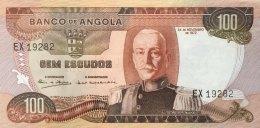 Angola 100 Escudos, P-101 (24.11.1972) AU - Angola