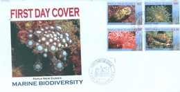 PAPUA NEW GUINEA - FDC  - 21.3.2008 - MARINE BIODIVERSITY - Yv 1207-1210 -  Lot 17682 - Papouasie-Nouvelle-Guinée