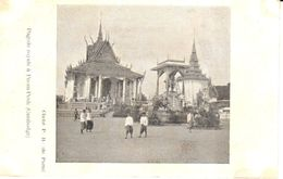 Asie - Cambodge - Pagode Royale à Pnom-Penh - Cambodge