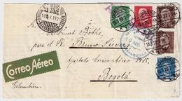 1929, Luftpost-Bf. Nach Kolumbien , #a835 - Deutschland