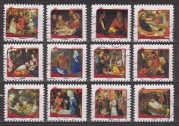 Art Religieux - Peinture - FRANCE - Nativité - Adoration Des Bergers - Adoration Des Rois Mages - N° 621 à 632 - 2011 - Luchtpost