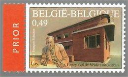 "België/Belgique 2003 François Schuiten Henry Van De Velde (1863-1957) ""La Nouvelle Maison (1927-1928)"" Prior - Unused Stamps"