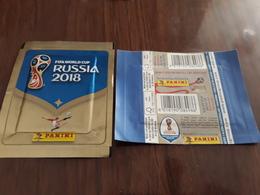 Russia 2018 Bustina Edizione Spagna Con Figurine Panini - Spanish Edition