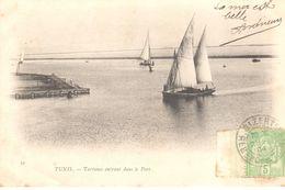 Afrique - Tunisie - Tartanes Entrant Dans Le Port - Tunisie