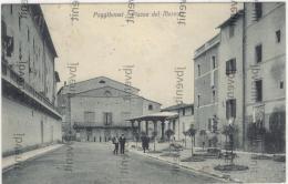 POGGIBONSI (SIENA) - Piazza Del Mercato (rara) - 1929 - Siena