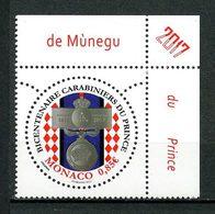 MONACO 2017 N° 3075 ** Neuf MNH Superbe Corps Des Carabiniers Du Prince De Monaco - Nuovi