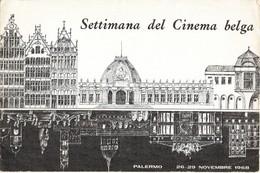 PALERMO 1968 - SETTIMANA DEL CINEMA BELGA +2 - Obj. 'Souvenir De'