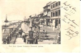 Afrique - Egypte - Port-Saïd - Port Said, Queen Victoria's Diamond Jubilee - Port-Saïd