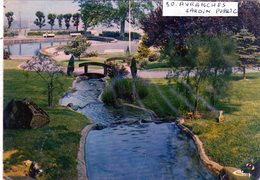 Cpm De Avranches - Le Jardin Public - - Avranches