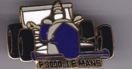 Pin's F 3000 LE MANS - F1