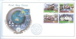 PAPUA NEW GUINEA - FDC  - 23.5.2007 - SCOUT - Yv 1143-1146 -  Lot 17689 - Papouasie-Nouvelle-Guinée