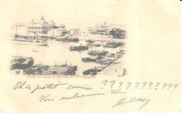 Afrique - Egypte - Port-Saïd - Entrée Du Canal Et Bureau De La Compagnie - Port-Saïd