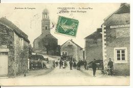 52 - CHARMOILLES / LA GRAND' RUE - L'EGLISE ET L'HÔTEL HERLINGUE - Autres Communes