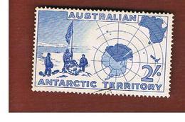 TERRITORI ANTARTICI AUSTRALIANI (AAT AUSTRALIAN ANTARCTIC TERRITORY) SG 1 - 1957 EXPEDITION AT VESTFOLD HILLS  -  USED - Territorio Antartico Australiano (AAT)