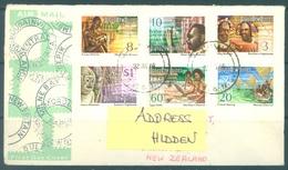 PAPUA NEW GUINEA - FDC  - 23.1.1974 -  - Yv 261-266 -  Lot 17691 - Papouasie-Nouvelle-Guinée