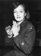 WW2 - Marlene Dietrich En Uniforme De L'Armée Américaine - 1939-45