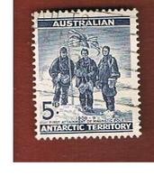 TERRITORI ANTARTICI AUSTRALIANI (AAT AUSTRALIAN ANTARCTIC TERRITORY) SG 6 - 1961 SHACKLETON EXPEDITION   -  USED - Territorio Antartico Australiano (AAT)