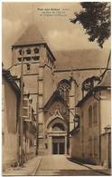 10 - Aube Bar Sur Seine - La Rue De L'Eglise Et L'Eglise Saint Etienne - Bar-sur-Seine