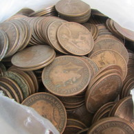 50 WW1 British Pennies - 1914-18