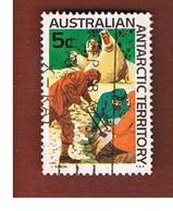 TERRITORI ANTARTICI AUSTRALIANI (AAT AUSTRALIAN ANTARCTIC TERRITORY) SG 11 - 1968 ELEPHANT SEAL   -  USED - Usati