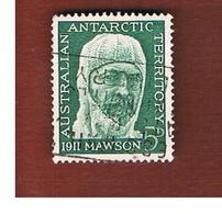 TERRITORI ANTARTICI AUSTRALIANI (AAT AUSTRALIAN ANTARCTIC TERRITORY) SG 7 - 1961  D. MAWSON   -  USED - Usati