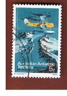 TERRITORI ANTARTICI AUSTRALIANI (AAT AUSTRALIAN ANTARCTIC TERRITORY) SG 24 - 1973 AIRPLANE DE HAVILLAND   -  USED - Usati