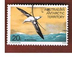 TERRITORI ANTARTICI AUSTRALIANI (AAT AUSTRALIAN ANTARCTIC TERRITORY) SG 29 - 1973 BIRDS: WANDERING ALBATROSS   -  USED - Territorio Antartico Australiano (AAT)