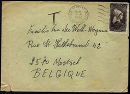 Frankreich France 1943 - Trachten - Picardie - MiNr 606 Auf Brief - Kostüme