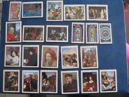 Timbres TABLEAUX/PAINTING Neufs ** Sans Charnières Luxe MNH Séries Complètes 10% YT - Postzegels