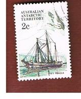 TERRITORI ANTARTICI AUSTRALIANI (AAT AUSTRALIAN ANTARCTIC TERRITORY) SG 38 - 1981 SHIPS: PENOLA   -  USED - Usati