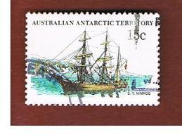 TERRITORI ANTARTICI AUSTRALIANI (AAT AUSTRALIAN ANTARCTIC TERRITORY) SG 41 - 1980 SHIPS: MORNING   -  USED - Usati