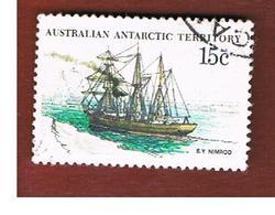 TERRITORI ANTARTICI AUSTRALIANI (AAT AUSTRALIAN ANTARCTIC TERRITORY) SG 42 - 1981 SHIPS: NIMROD   -  USED - Usati