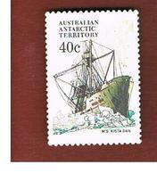 TERRITORI ANTARTICI AUSTRALIANI (AAT AUSTRALIAN ANTARCTIC TERRITORY) SG 48 - 1981 SHIPS: KISTA DAN   -  USED - Territorio Antartico Australiano (AAT)
